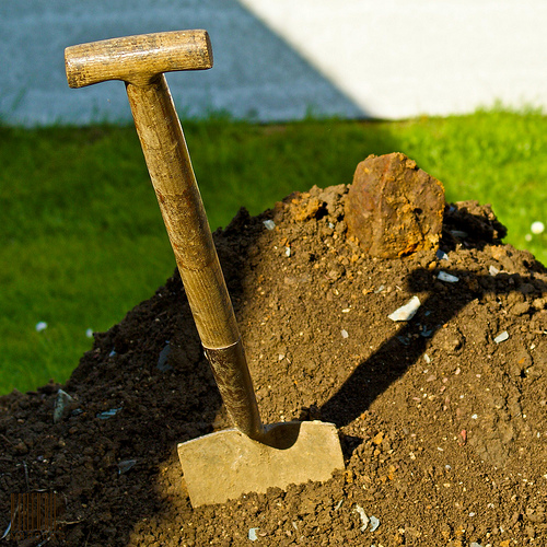 Call a spade a spade how to choose a decent spade for Second hand garden tools